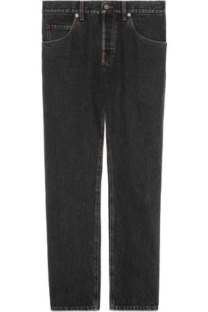 Gucci Men Tapered - Tapered eco stonewashed denim jeans