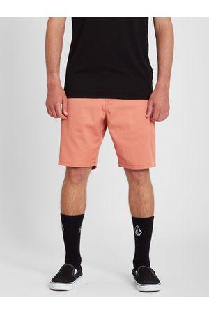 "Volcom Men Shorts - Men's Frickin Modern Stretch 19"" Short - Clay"