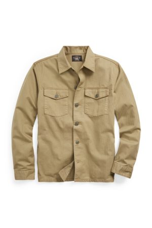 RRL Men Casual - Herringbone Twill Shirt
