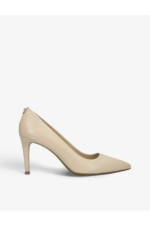 Michael Kors Dorothy Flex heeled leather courts