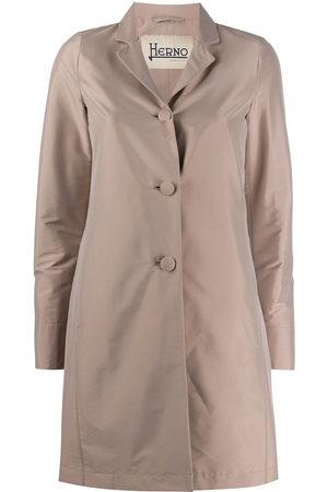 HERNO Women Rain Jackets - Single breasted raincoat