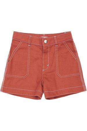 Chloé Girls Shorts - Cotton Poplin Shorts