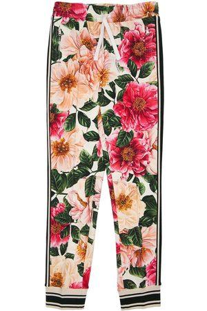 Dolce & Gabbana Girls Trousers - Printed Cotton Sweatpants
