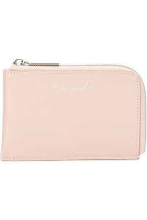 YOHJI YAMAMOTO Women Purses & Wallets - Embossed logo calf-leather wallet