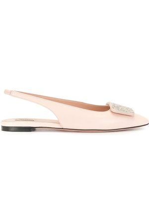 Bally Women Loafers - Pointed slingback loafers