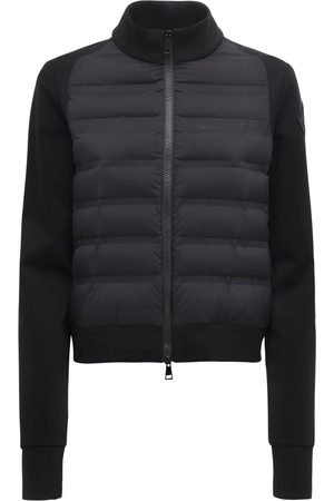 Moncler Women Fleece Jackets - Fleece & Down Jacket