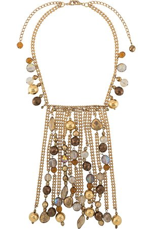 Gianfranco Ferré Pre-Owned 2000s bead embellished necklace