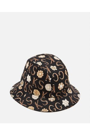 Gucci Men Hats - Canvas hat with Ken Scott print size L