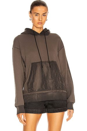 Cotton Citizen Brooklyn Oversized Hoodie in Graphite Mix