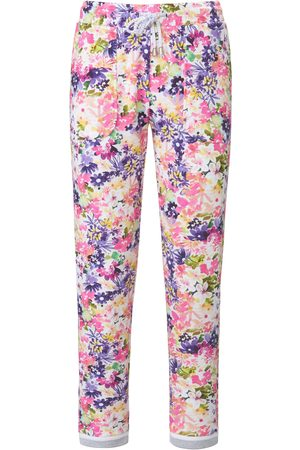 Mybc Ankle-length sweat trousers print bright size: 14