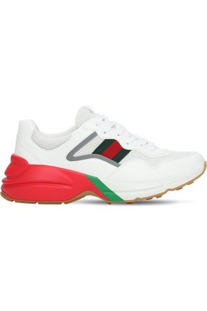 GUCCI Web Rhyton Sneakers