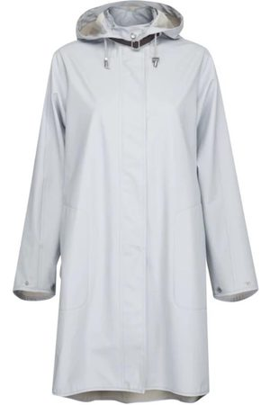 Ilse Jacobsen Rain 71 Raincoat 637 White Blue