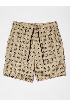 "Volcom Men Shorts - Men's Strange Trip 18"" Short - Khaki"