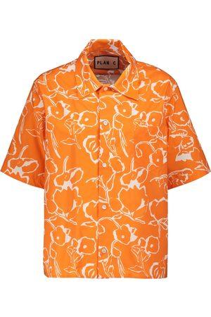 Plan C Floral cotton shirt