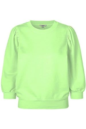 mbyM Lesli Puff Sleeve Knit - Faded Neon