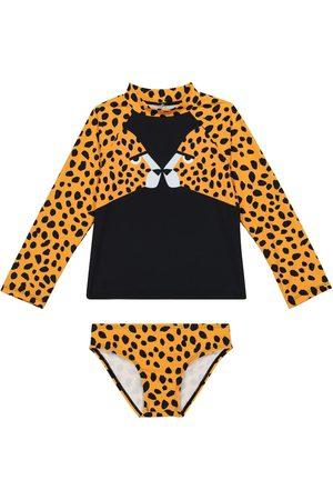 Stella McCartney Cheetah-print swimwear set
