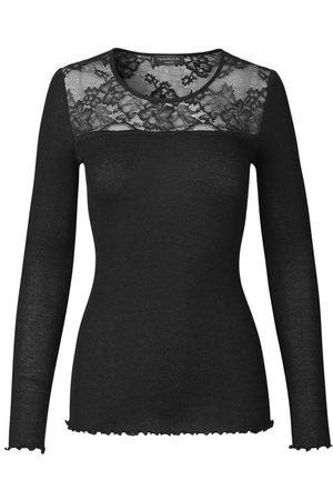 Rosemunde Baley Lace silk top