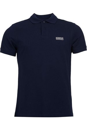 Barbour BARBOUR INTL ESSENTIAL PIQUE POLO SHIRT, Colour: NAVY