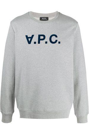 A.P.C. Men Sweatshirts - . MEN'S COECQH27378PLA COTTON SWEATSHIRT