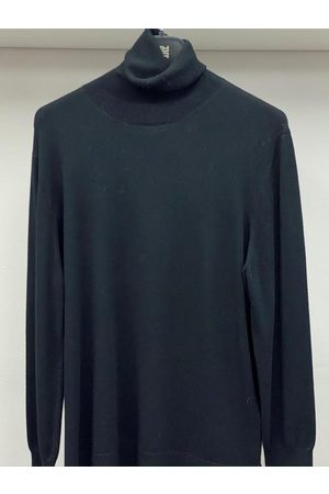 Riani Women Jumpers - Long Sleeved Black Polo Necked Jumper 887850/7673 999