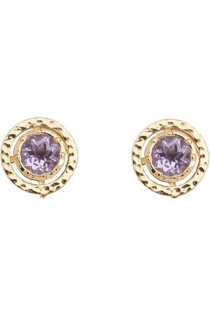 Coco & Kinney Amethyst Bryony Top in Gold
