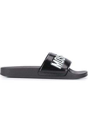 Moschino MEN'S MB28022G1CG10000 PVC SANDALS