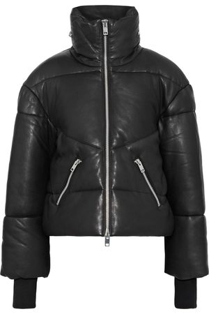 Walter Baker Women Summer Jackets - Woman Edwina Zip-detailed Quilted Leather Jacket Size L