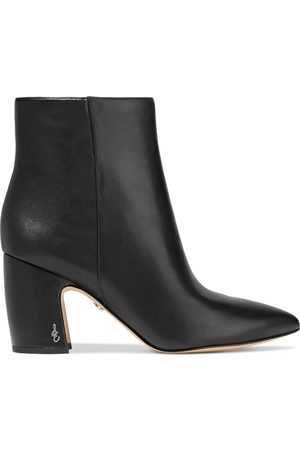 Sam Edelman Woman Hilty Leather Ankle Boots Size 10