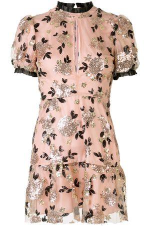Macgraw Sparrow floral mini dress
