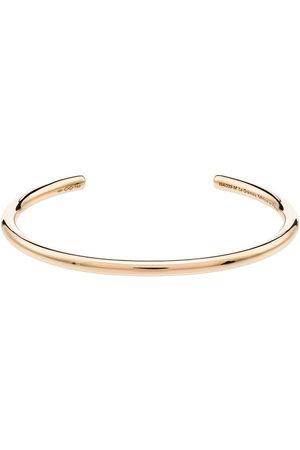Le Gramme Men Bracelets - 18kt engraved-detail bangle
