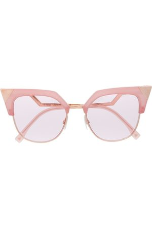 Fendi Eyewear Pointed cat eye sunglasses