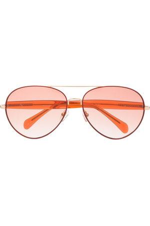 Linda Farrow Primrose aviator frame sunglasses