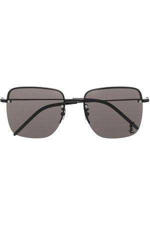 Saint Laurent Monogram SL312M square-frame sunglasses