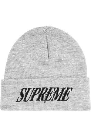 Supreme Logo-embroidered beanie