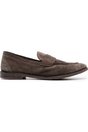 HENDERSON BARACCO Brushed-effect loafers