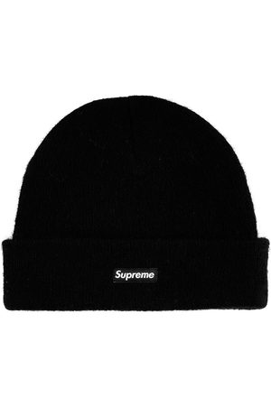 Supreme Logo-patch knitted beanie