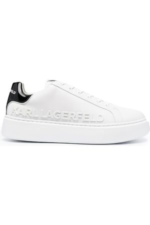 Karl Lagerfeld Maxi Kup logo-debossed sneakers