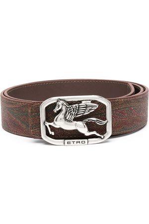 Etro Logo-buckle belt