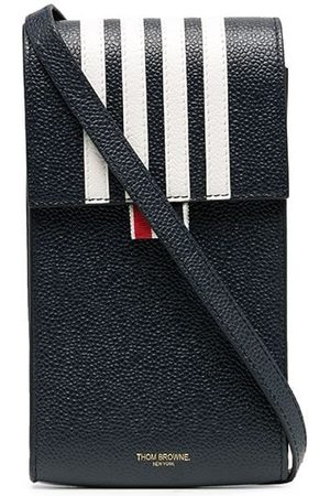 Thom Browne 4-bar flap phone holder