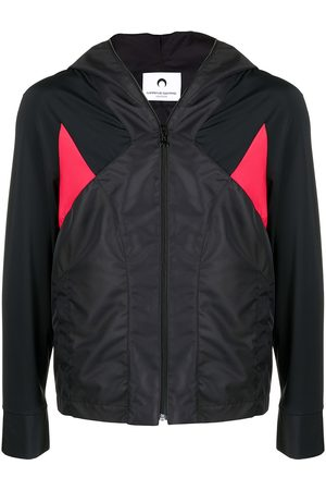 Marine Serre Colour-block track jacket