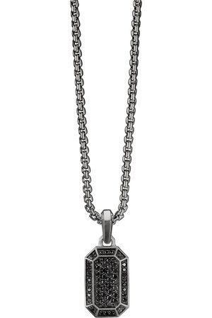 David Yurman 14mm diamond pavé amulet