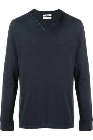 Zadig & Voltaire V-neck long-sleeve T-shirt