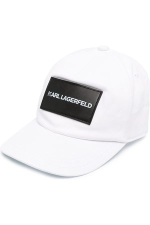 Karl Lagerfeld Logo patch baseball cap