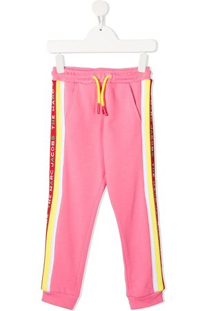 The Marc Jacobs Logo-print cotton track pants