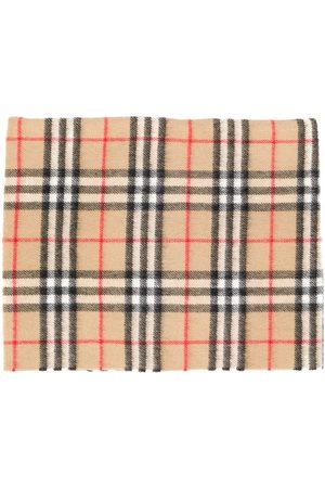 Burberry Sciarpe check scarf - Neutrals