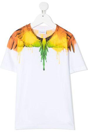 MARCELO BURLON Wing-prints cotton T-Shirt