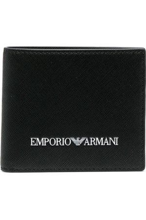 Emporio Armani Men Purses & Wallets - Logo-print billfold wallet