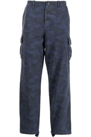 Paul Smith Camouflage print cargo trousers
