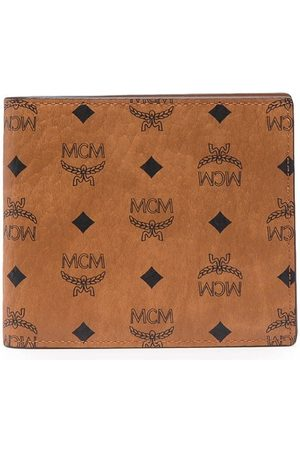 MCM Small monogram-print bi-fold wallet