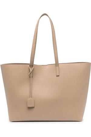 Saint Laurent Women Handbags - Shopping tote bag - Neutrals